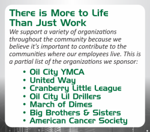 organizations supported